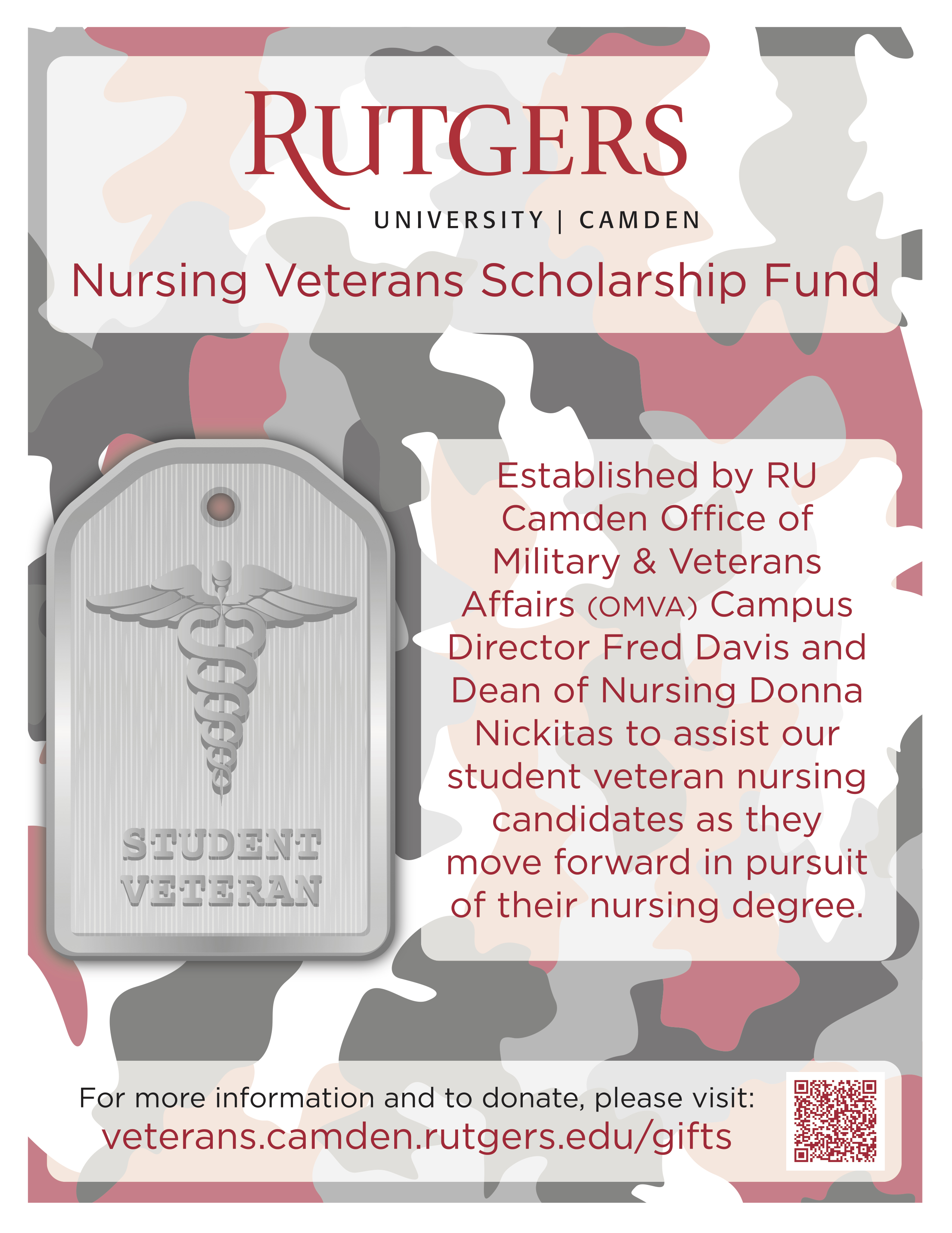 Nursing Veterans Scholarship Fund Image Link